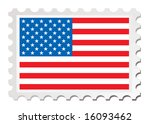 american flag inspired by a... | Shutterstock .eps vector #16093462