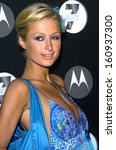 Small photo of Paris Hilton at MOTO 7 Motorola TOYS FOR TOTS 7th Anniversary Benefit, The American Legion, Hollywood, CA, November 03, 2005