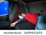 Truck Driver Lifestyle. Trucke...