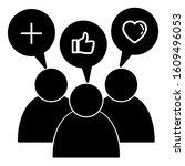 brand engagement icon design.... | Shutterstock .eps vector #1609496053