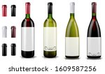 Red And White Wine Bottles....