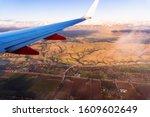 Flying Above Santa Clara Count...