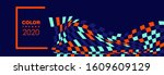 hipster modern geometric... | Shutterstock .eps vector #1609609129