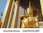 Gilded Sculptural Image Of A...