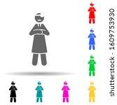 doctor  confident multi color...