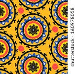 ethnic pattern in bright color... | Shutterstock .eps vector #160978058
