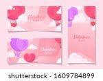 celebrate valentine's day for... | Shutterstock . vector #1609784899