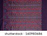 thai silk motif pattern. | Shutterstock . vector #160983686