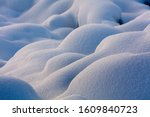 Abstract Winter Snow Texture ...