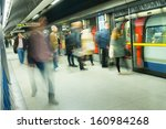London Tube Train Station...