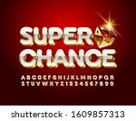 vector luxury emblem super... | Shutterstock .eps vector #1609857313