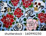 melbourne   oct 25  street art... | Shutterstock . vector #160990250
