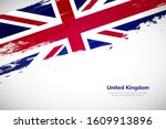 united kingdom flag made in... | Shutterstock .eps vector #1609913896