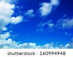 The Blue Sky And Cloud