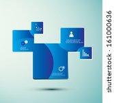 modern abstract infographics...   Shutterstock .eps vector #161000636