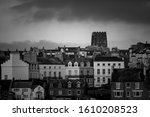 Whitby Black And White...