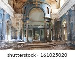 Interior Shot Of Old Abandoned...