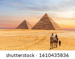 Pyramids Of Giza And The...