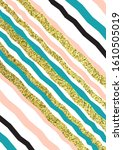Trendy Abstract Design Colored...