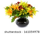 Bouquet With Chrysanthemum ...