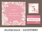 set backgrounds to celebrate... | Shutterstock .eps vector #161055884