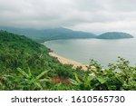 Panorama Scene Of Lang Co Beach ...