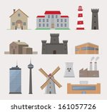 Collection Of Various Building...