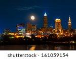 Brightly Lit Cleveland Ohio...