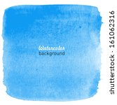 hand drawn watercolor blue...   Shutterstock .eps vector #161062316