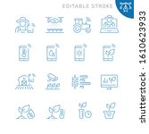 smart farm related icons....   Shutterstock .eps vector #1610623933