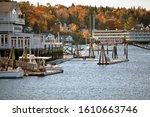 Maine  New England  Usa  Oct...