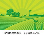 agriculture,art,background,banner,barn,chicken,countryside,cow,engraving,farm,farmer,farming,field,food,free