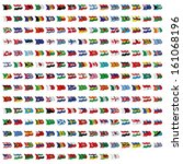 world flag collection   Shutterstock . vector #161068196