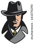 agent,clever,coat,courts,crime,criminals,criminology,design,detective,exploration,face,fiction,genius,hat,head
