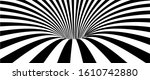 abstract lines design. black... | Shutterstock .eps vector #1610742880