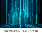 abstract matrix like background | Shutterstock . vector #161077550