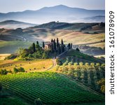 Tuscany  Panoramic Landscape  ...