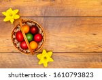 Seven Colourful Easter Eggs In...