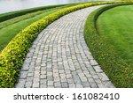 The Stone Block Walk Path In...
