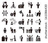 businessman | Shutterstock .eps vector #161086430