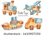 Children's Wooden Toys...
