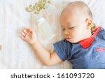 baby sleeping | Shutterstock . vector #161093720