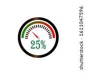 circular percentage diagram  ...