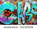 melbourne   oct 25  street art...   Shutterstock . vector #161105546