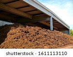 Composted Soil Pile At The...