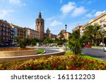 valencia  spain   august 27 ... | Shutterstock . vector #161112203