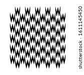 seamless pattern black wave... | Shutterstock .eps vector #1611145450