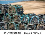 Crab And Lobster Pots Or Creels ...