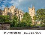 Exeter Cathedral  Devon....