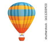 flight air balloon icon.... | Shutterstock .eps vector #1611203923